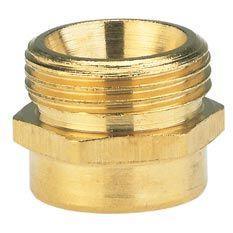 GARDENA Reduzier-Messing-Gewindenippel AG 26,5mm / IG 33,3mm 07264-20