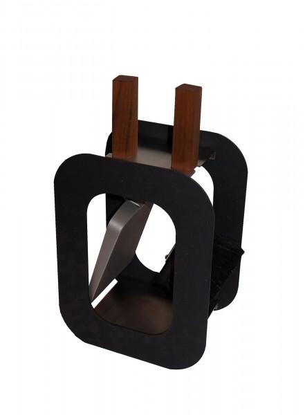 Kaminbesteck / Kamingarnitur Cube Lienbacher 2-tlg. Edelstahl schwarz