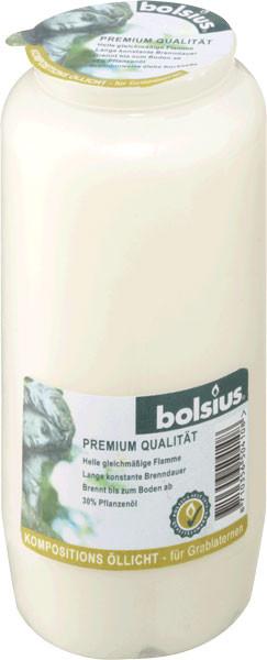 Bolsius Grablicht / Kompositionsöllicht Nr. 7 weiß