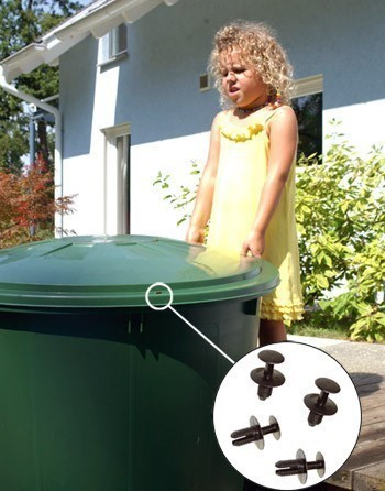 Kindersicherung / Windsicherung für Regentonne GRAF GARANTIA 504016