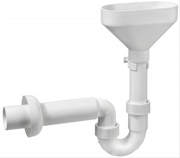 Tropfwasser - Geruchsverschluss mit Trichter