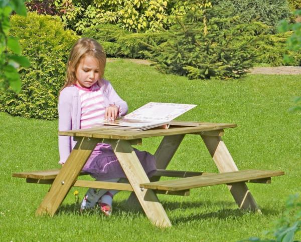 Kindersitzgruppe / Picknicktisch Kiefer kdi 90x90x50cm