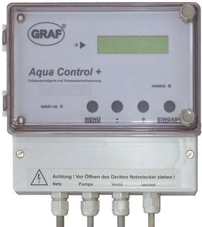 Aqua-Control+ und Trinkwassernachspeisung GRAF 351021
