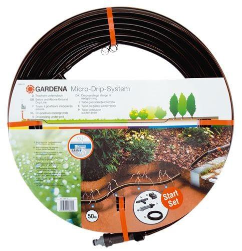 GARDENA Micro-Drip-System Tropfrohr unterird. mit Basisgerät 01389-20
