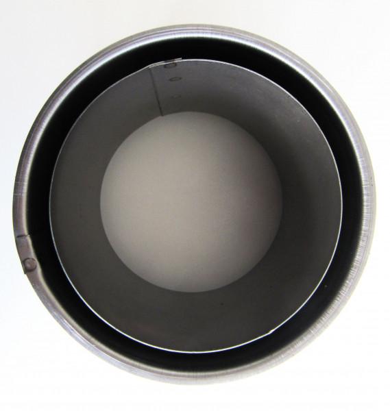 Wandfutter doppelwandig Stahl Ø180mm