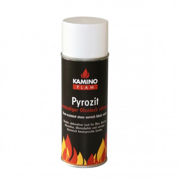 Ofenlack Spray KaminoFlam schwarz matt 300 ml