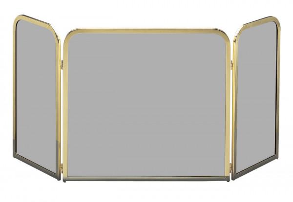 Funkenschutz - Funkenschutzglas Lienbacher Messing getönt klappbar