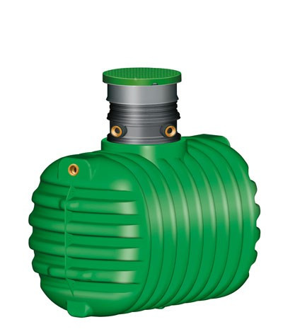 Abwasser Sammelgrube Cristall ohne DIBt 2.650 Liter GARANTIA 102031