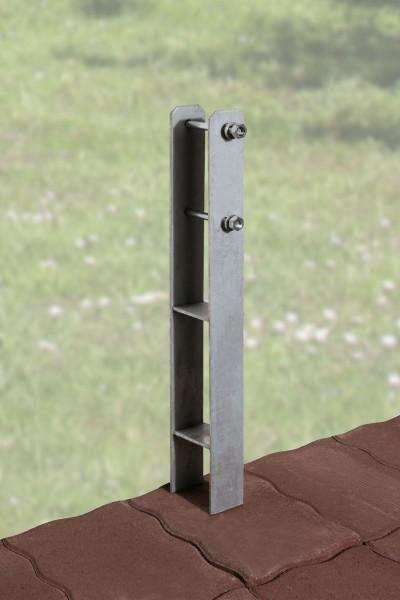 H-Anker-Set 10-teilig 12x12 Weka Carport Optima / Optima DeLuxe
