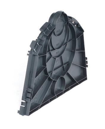 Endplatte für Sicker-Tunnel GRAF 410098 GARANTIA 231004 / 2 Stück