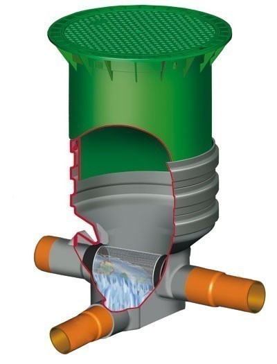 Regenwasserfilter Supra Extern begehbar GARANTIA 202558