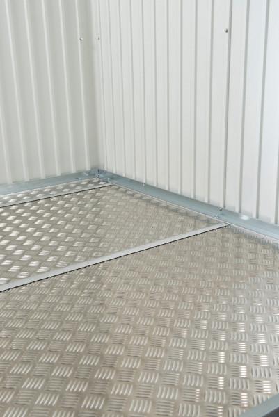 Bodenplatte Alu für Biohort Gerätehaus Gr.L / H2 243,5x163,5cm