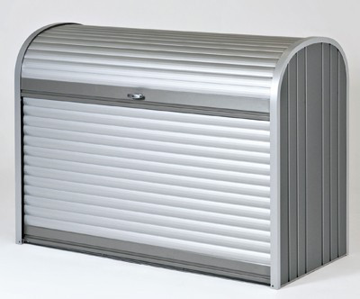 Gartenbox / Auflagenbox Biohort Storemax 120 quarzgrau