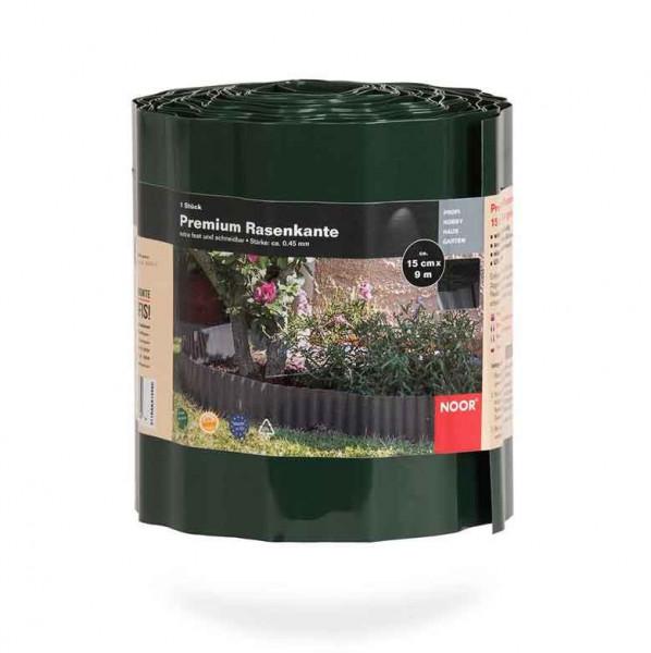 Rasenkante / Raseneinfassung Premium Noor 15cmx9m grün