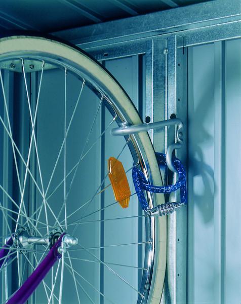 Fahrradhalter bikeMax für Biohort Europa und Geräteschrank