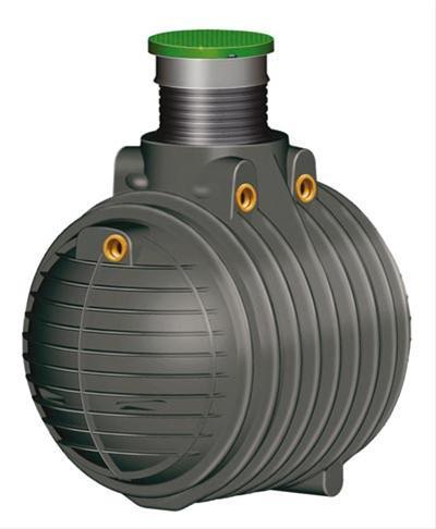 Abwasser Sammelgrube Columbus begehbar mit DIBt 4.500L GRAF 102233