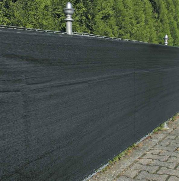 Sichtschutz / Zaunblende Noor 1,2x5m anthrazit 180g/m²