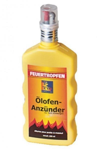 Ölofenanzünder Feuertropfen flüssig 200 ml