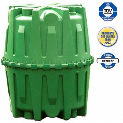 Abwasser Sammelgrube Herkules ohne DIBt 3.200L GRAF / GARANTIA 100002