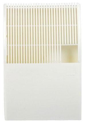 Luftbefeuchter / Benta Flachverdunster Kunststoff weiß 21x31x5cm