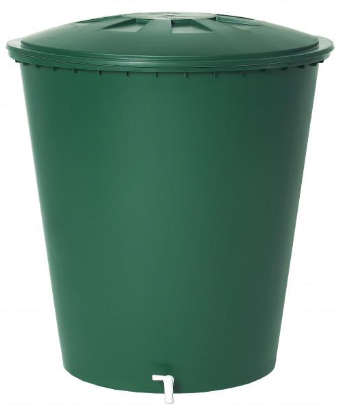 Regentonne rund 310 Liter grün GARANTIA 500213