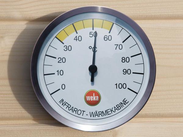Thermometer Weka für Infrarot Wärmekabinen