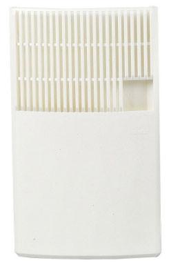 Luftbefeuchter / Benta Flachverdunster Kunststoff weiß 17x28x3cm