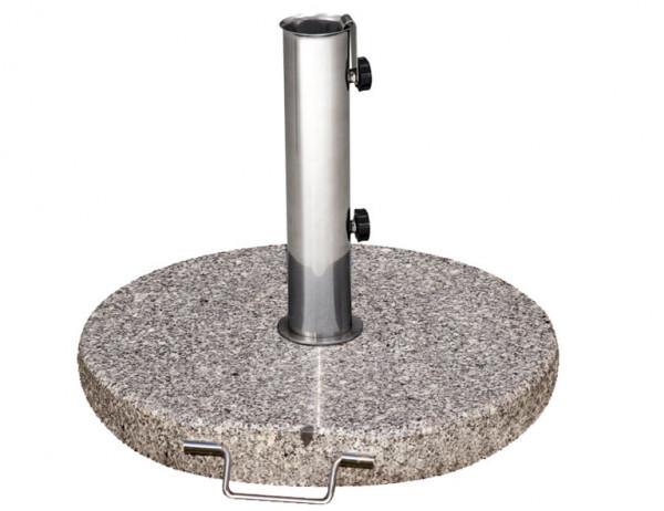 Siena Garden Sonnenschrimständer Granit 40kg granitgrau Ø 25-48mm