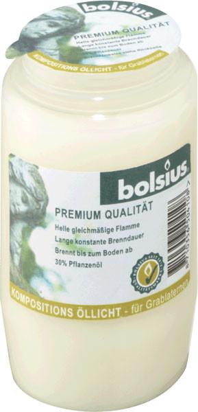 Bolsius Grablicht / Kompositionsöllicht Nr. 3 weiß