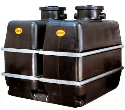 Kellertank schwarz 1.700 Liter GRAF 327020