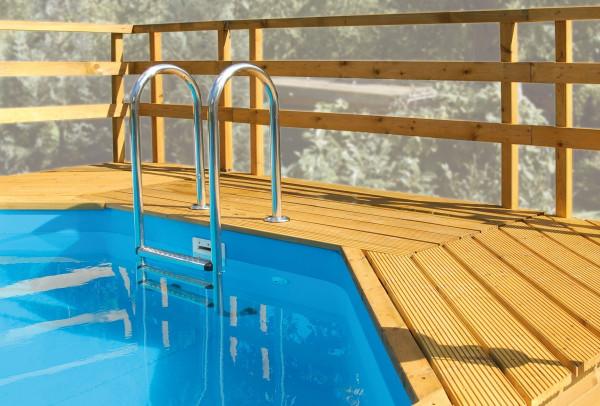 Sonnendeck Weka Pool 593 B Gr.1 und 594