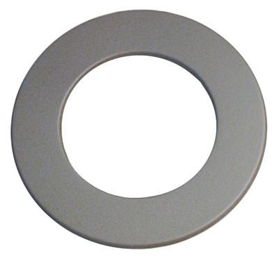 Ofenrohr / Rauchrohr Rosette gussgrau Ø180mm