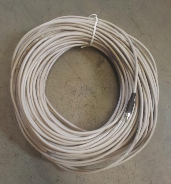 Datenleitung 50 m 2-adrig mit Chinch - Stecker Graf