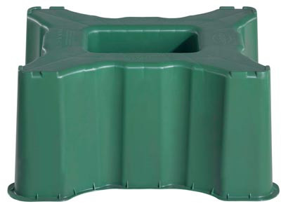 Sockel / Unterstand eckig Regentonne 300 Liter eckig GRAF / GARANTIA