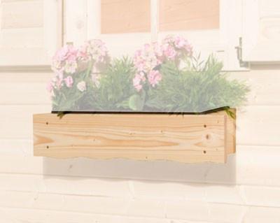 Blumenkasten 60 cm zu Weka Gartenhaus