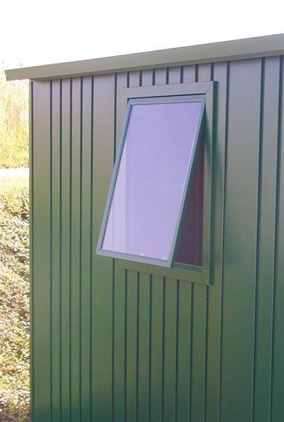 Fensterelement für Biohort Europa dunkelgrün