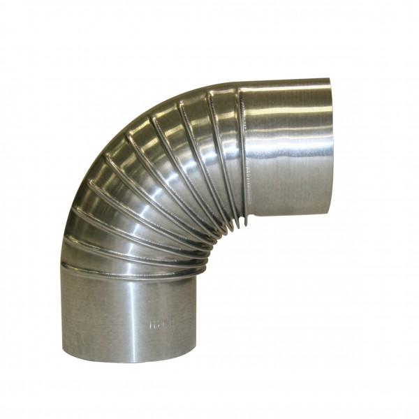 Ofenrohr / Rauchrohr KaminoFlam FAL Bogenknie 90° Ø 130mm ohne Tür