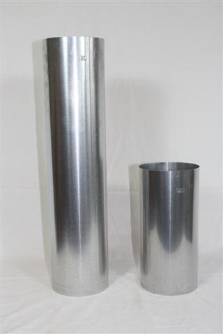 Ofenrohr / Rauchrohr FAL Ø80mm Länge 250mm