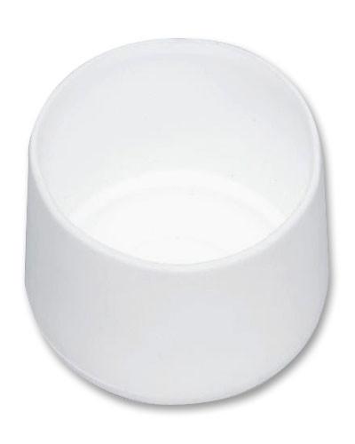 MWH Fußkappe 10101029 rund Ø 28 mm weiß