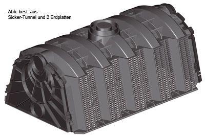 Sicker-Tunnel Set LKW befahrbar 3.000 Liter GRAF 410123