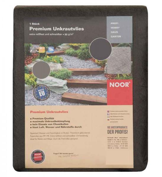 Unkrautvlies / Trennvlies Premium Noor dunkelgrau 1x5m