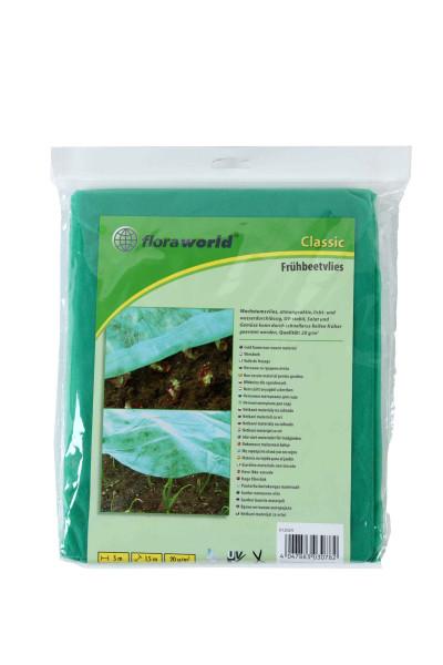 Frühbeetvlies / Wachstumsvlies classic floraworld 5x1,5m grün