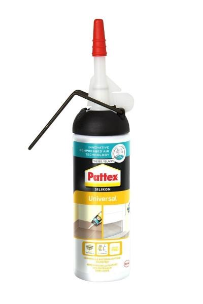 Pattex Universal Silikon weiß 100ml