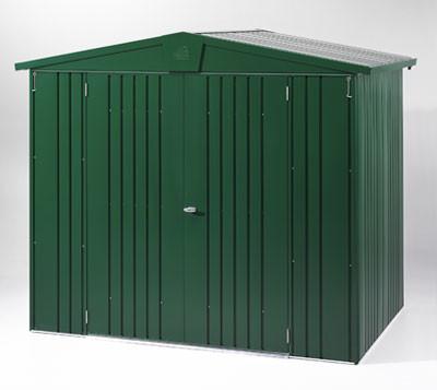 Gerätehaus Biohort Europa Gr. 6 dunkelgrün 244x300cm
