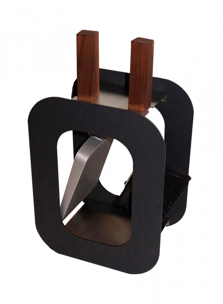 Kaminbesteck / Kamingarnitur Cube Lienbacher 2-tlg Edelstahl anthr