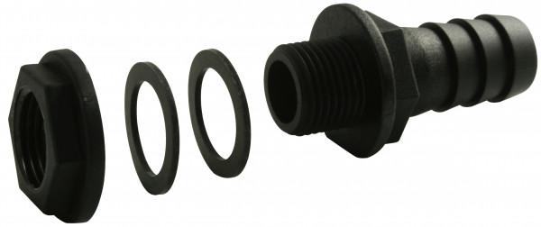 Regentonnenverbinder / Tonnenanschluss 3/4 Zoll